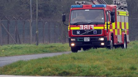 Firefighters were sent to the scene. File picture: PHIL MORLEY