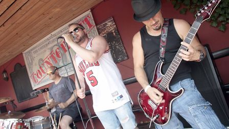 Counterfeit play The Bell pub's motor neurone Father's Day fundraiser. Picture: NIGE BROWN