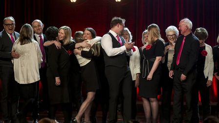 The Missing People Choir on Britain's Got Talent. Picture: TOM DYMOND/SYCO/THAMES ITV