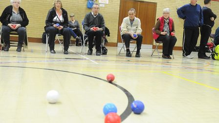 Boccia will be on hand for people to try. Picture: LUCY TAYLOR