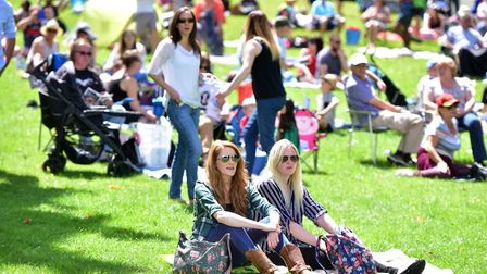 Thousands of people flocked to Christchurch Park for Ipswich Music Day 2016 - bosses hope to smash r