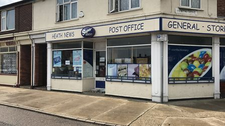 Heath Road Post Office has closed suddenly. Picture: EMILY TOWNSEND