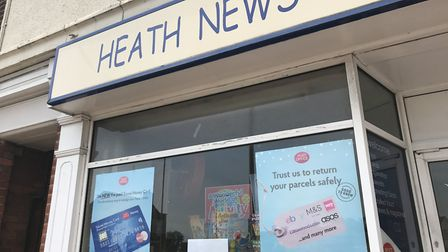 The Heath Road post office suddenly closed.  Photo: EMILY TOWNSEND