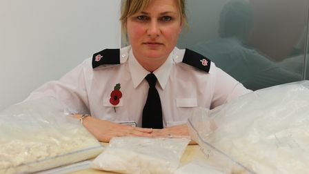 Supt Kerry Cutler of Suffolk Constabulary has praised those involved in Operation Woven. Picture: AR