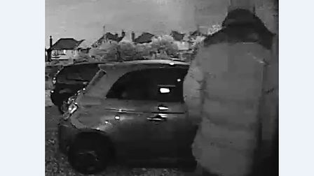 Police have released a CCTV image of man they would like to speak to following a burglary in Ipswich