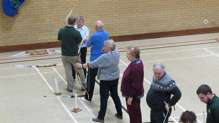ActivIpswich has laid on archery taster sessions. Picture: MIKE MCCARTHY