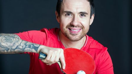 Paralympic gold medal-winning table tennis star Will Bayley. Picture: JONATHAN BANKS/PHOTOBANKS