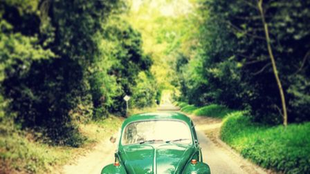Travelling in style around the roads of Suffolk. Picture: JAMES WILSON