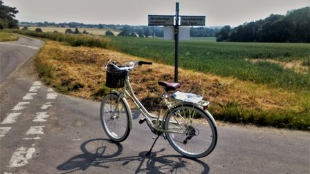 Bike ride in the warm weather. Picture: JULIE KEMP
