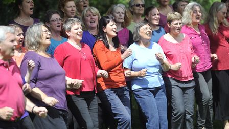 Singing Safari performs music in styles from around the globe. Picture: SU ANDERSON