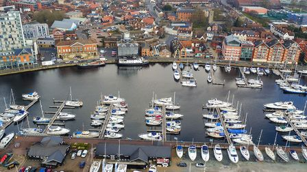 Ipswich marina (stock image). Picture: SKY CAM EAST