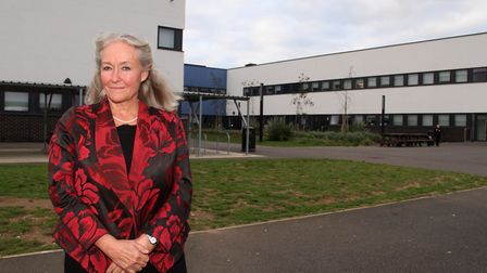 Former Ipswich Academy principal Amanda Phillips, who died aged 62. Picture: SIMON PARKER