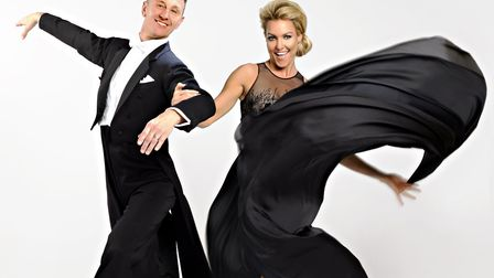 Ian Waite and Natalie Lowe brought their Somewhere In Time tour to the Ipswich Regent. Photo: Contri