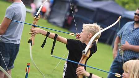 Family Fun Day at Greshams in Ipswich. Pictured is Harry Norton. Picture: GREGG BROWN