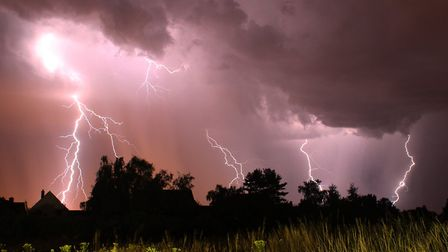 Thunderstorms could bring localised flooding to the region (stock image). Picture: JASON ALEXANDER