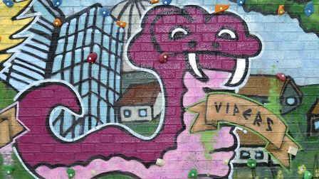 Youngsters can learn how to do graffiti art (stock image). Picture: TUDOR MORGAN-OWEN