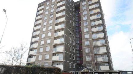 Cumberland Towers in Norwich Road. Picture: SU ANDERSON