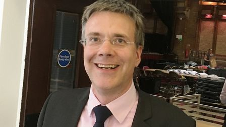 Cabinet member for Ipswich Paul West. Picture: PAUL GEATER