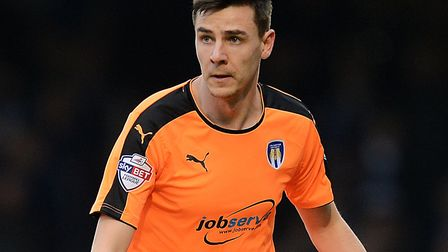 Owen Garvan during his time with Colchester United. Picture: RICHARD BLAXALL