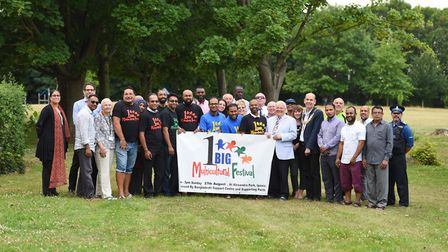 Launch of Multicultural Festival 2017 in Alexandra Park, Ipswich. Picture: GREGG BROWN.