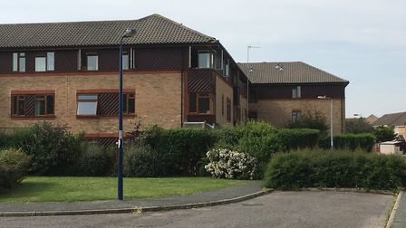 Residents from 30 flats had to be evacuated from Rowland House. Picture: ARCHANT