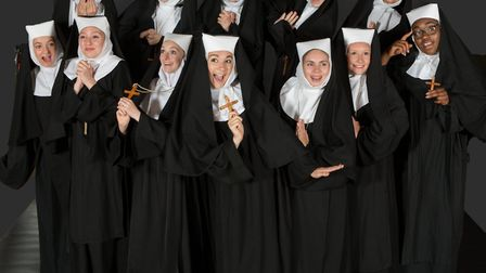 The Sister Act nuns when their talent for gospel music is discovered by Deloris van Cartier in Siste