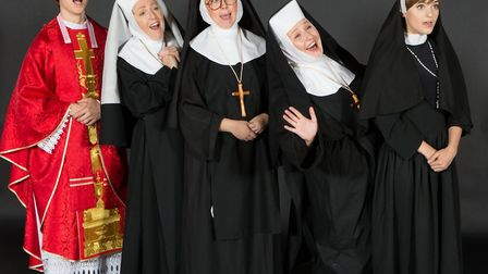 Richard Beeby as Monsignor O�'Hara, Stephanie Brown as Mother Superior, Lizzie Tyte as Sister Mary L