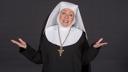 Stephanie Brown as Mother Superior in Sister Act. Photo: Mike Kwasniak