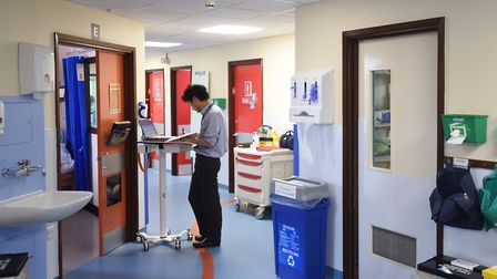 Some wards have already been revamped to be dementia friendly. Picture: GREGG BROWN
