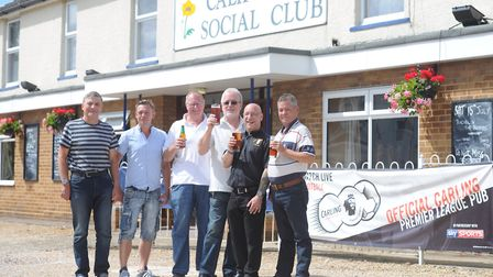 The California Social Club in Ipswich has won the Ipswich and East Suffolk CAMRA Club of the Year aw