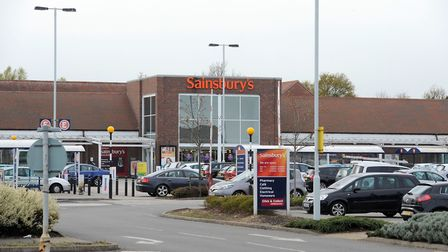 Gabriel Dragut was arrested at Sainsbury's, in Warren Heath, Ipswich.