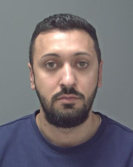 Gabriel Dragut, who has been jailed for 10 months. Picture: SUFFOLK POLICE