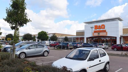 Ransomes Euro Retail Park in Ipswich