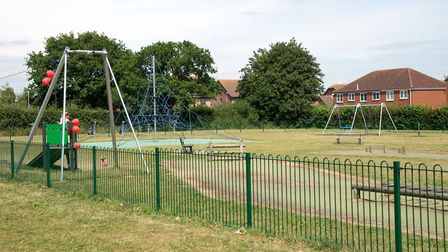 The revamped Oak Meadow play area. Picture: KESGRAVE TOWN COUNCIL