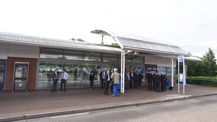 The park and ride centre at Copdock has been put up for sale. Picture: GREGG BROWN