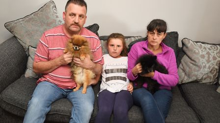 Ipswich family left devastated when their home was ransacked while they were away on holiday. The bu