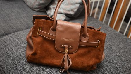 A designer bag identical to the one pictured was taken in the robbery. Picture: GREGG BROWN