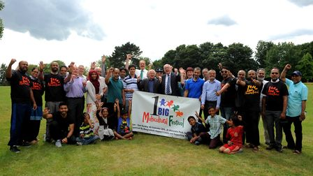 Launch of the 1 Big Multicultural Festival in Alexandra Park, Ipswich. Picture: SIMON PARKER