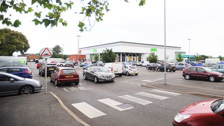 Stoke Park ASDA, where the man suffered a cardiac arrest. Picture: GREGG BROWN