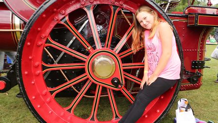 Aaliyah Cowells, 12, at Ipswich Wheels on Sunday. Picture: SEANA HUGHES