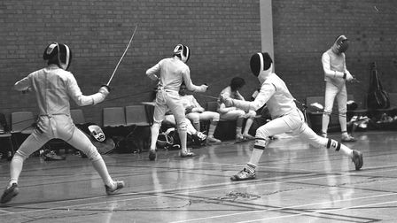 Let's start this duel: The British Fencing Championship