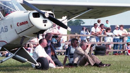 It was a great day for small aircraft owners and enthusiasts alike