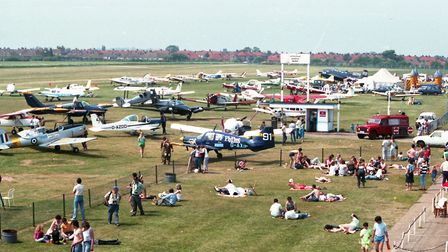 Glorious sunshine helped to boost the crowds