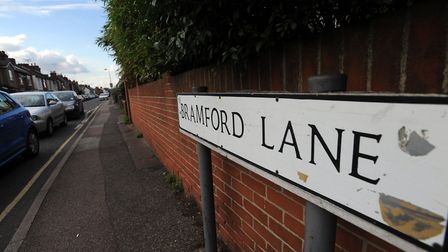 Bramford Lane in Ipswich is one area where anti-social behaviour has been happening. File picture: P
