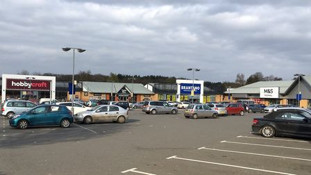 More stores are coming to Beardmore Park, Martlesham. Picture: JASON NOBLE