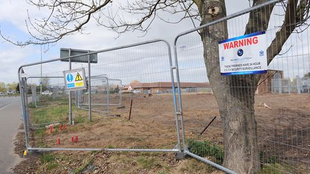 Land next to Tesco in Martlesham that is being developed. Picture:Archant
