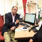 Dr Juno Jesuthasan at Barrack Lane Medical Centre, which is trialling a new online triage system. Pi