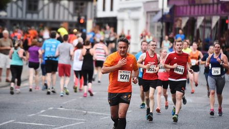 Hundreds will take part in the Ipswich Twilight Road Races 2017. Picture: LUCY TAYLOR