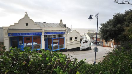 Bent Hill in Felixstowe, where Bandbox is located. Picture: SARAH LUCY BROWN