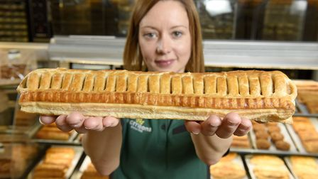 Morrisons Felixstowe has launched the Foot Long Sausage Roll, believed to be the largest in the UK.